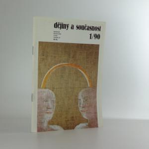 náhled knihy - Dějiny a současnost (kulturně historická revue č. 1/90)