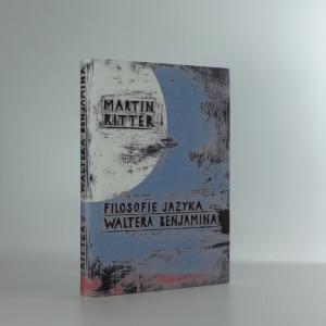 náhled knihy - Filosofie jazyka Waltera Benjamina