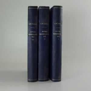 náhled knihy - Anna Karenina : román o třech dílech