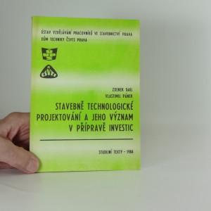náhled knihy - Stavebně technologické projektování a jeho význam v přípravě investic