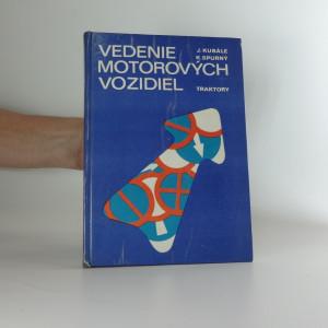 náhled knihy - Vedenie motorových vozidel : Traktory