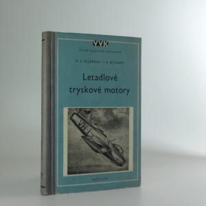 náhled knihy - Letadlové tryskové motory