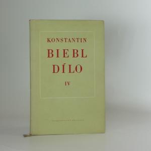 náhled knihy - Konstantin Biebl: Dílo - IV