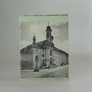 náhled knihy - Klášter a nemocnice Alžbětinek na Slupi