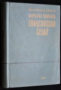 náhled knihy - Kapesní slovník francouzsko-český