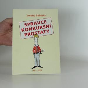 náhled knihy - Správce konkursní prostaty