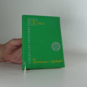 náhled knihy - Turistický průvodce ČSSR 5 - Šumava - východ
