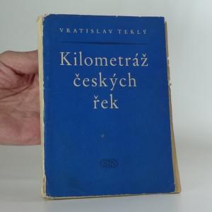 náhled knihy - Kilometráž českých řek