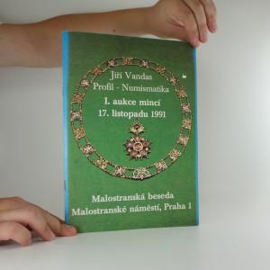 náhled knihy - I. aukce mincí 17. listopadu 1991