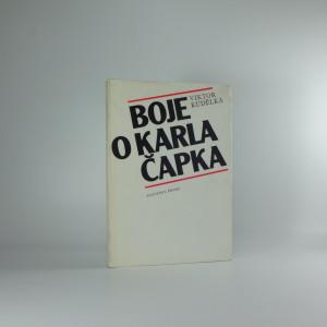 náhled knihy - Boje o Karla Čapka