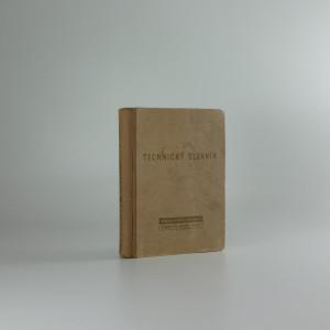 náhled knihy - Technický slovník anglicko-český a česko-anglický