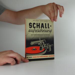 náhled knihy - Schallaufzeichnung auf plattenförmigen Lautträgern