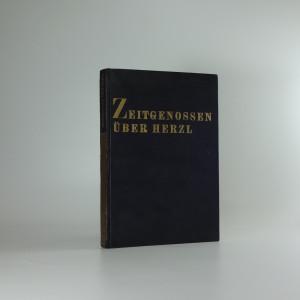náhled knihy - Zeitgenossen über Herzl