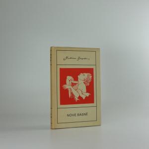 náhled knihy - Nové básně
