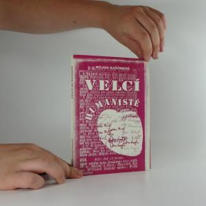 náhled knihy - Velcí humanisté