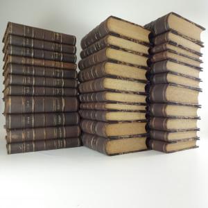 náhled knihy - Zolovy spisy v Kůži (32 svazků)