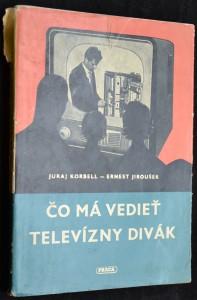 náhled knihy - Čo má vedieť televizný divák
