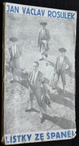 náhled knihy - Lístky ze Španěl