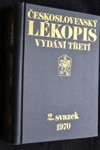 náhled knihy - Československý lékopis, 2. svazek