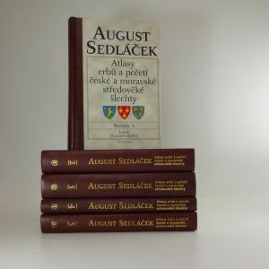 náhled knihy - Atlasy erbů a pečetí české a moravské středověké šlechty ( 5 svazků )