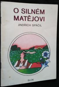 náhled knihy - O silném Matějovi