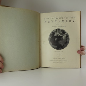 antikvární kniha Nové směry : revue výtvarné výchovy  (ročník III.), 1929-1930