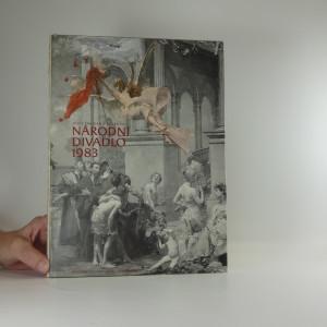 náhled knihy - Národní divadlo 1983 : rekonstrukce a dostavba okolí