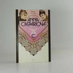 náhled knihy - Anna Caspariová, Theun de Vries