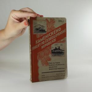 náhled knihy - Kamenického toulky po Československé republice 1.díl