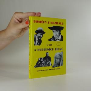 náhled knihy - Písničky z muzikálů a hudebních filmů 1. díl