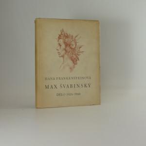 náhled knihy - Max Švabinský dílo 1924-1948