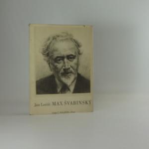 náhled knihy - Max Švabinský : Náčrt k monografii