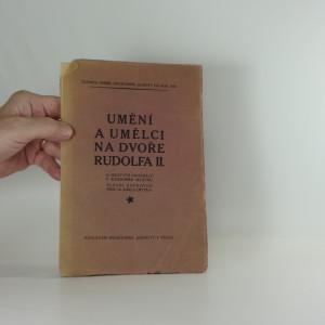 náhled knihy - Umění a umělci na dvoře Rudolfa II