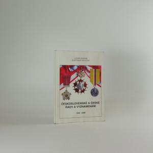 náhled knihy - Československé a české řády a vyznamenání 1948-2000. II. díl