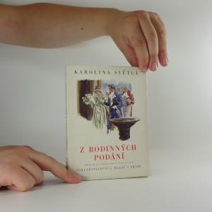 náhled knihy - Z rodinných podání