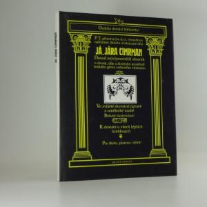 náhled knihy - Já, Jára Cimrman : dosud nejvýpravnější sborník o životě, díle a životním prostředí českého génia světového významu