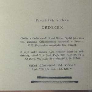 antikvární kniha Dědeček, 1956