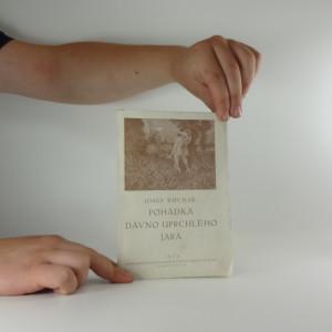 náhled knihy - Pohádka dávno uprchlého jara