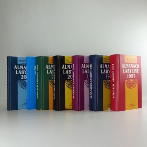 náhled knihy - Almanach Labyrint : ročenka revue Labyrin, ročník 1997-2001, ročník 2006 a 2010