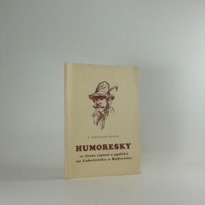 náhled knihy - Humoresky ze života cigánů a pyláků na Luhačovicku a Bojkovicku