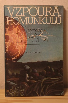 náhled knihy - Vzpoura homunkulů : vědecko-fantastický román