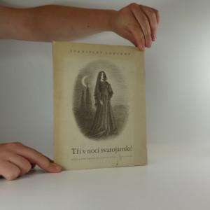 náhled knihy - Tři v noci svatojanské