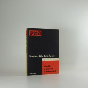 náhled knihy - Studie o umění a básnících