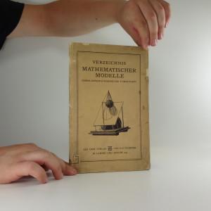 náhled knihy - Verzeichnis Mathematischer Modelle : Sammlungen H. Wiener und P. Treutlein