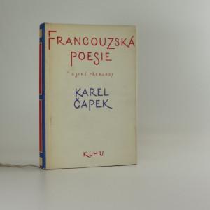náhled knihy - Francouzská poesie a jiné překlady