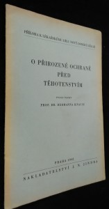 náhled knihy - O přirozené ochraně před těhotenstvím