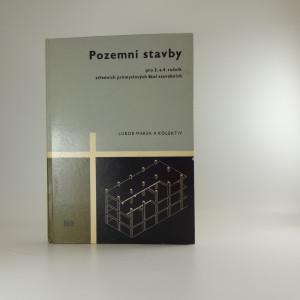 náhled knihy - Pozemní stavby pro 3. a 4. ročník středních průmyslových škol stavebních