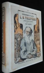 náhled knihy - Vzpomínky a listy L. N. Tolstého