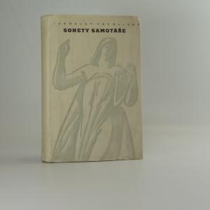 náhled knihy - Sonety samotáře : Nové sonety samotáře