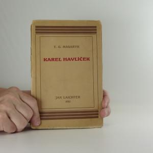 náhled knihy - Karel Havlíček Snahy a tužby politického probuzení